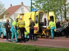 Flinke botsing tussen fietser en auto in Leidsche Rijn