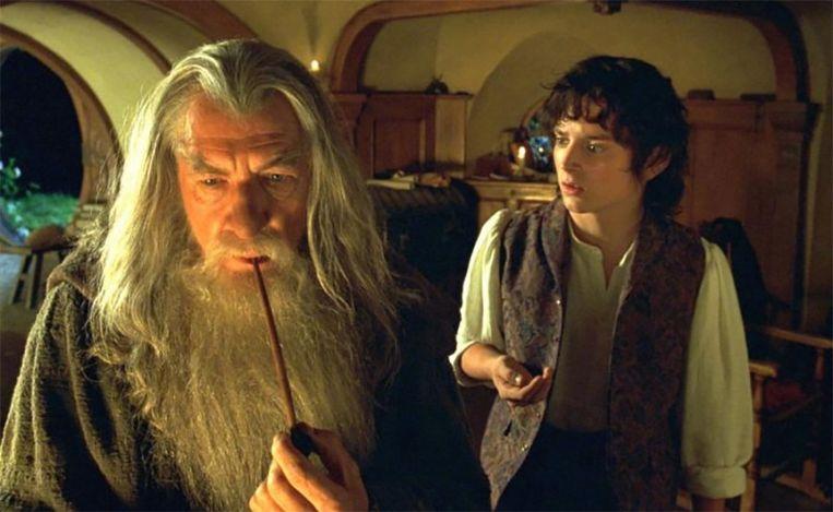 Gandalf en Frodo in 'The Lord of the Rings'