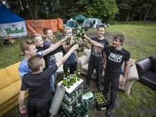 Vier de zomer met sloten bier in de wei bij Tubbergen