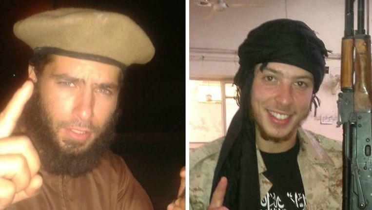 Redwane Hajaoui en Tarik Jadaoun zijn twee jongemannen uit Verviers die zich Abu Khalid Al Maghribi en Abou Hamza laten noemen en recent naar het front in Syrië trokken.