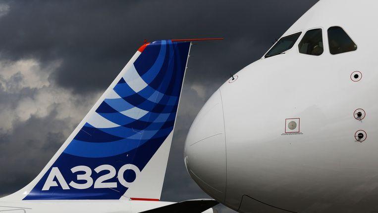 Een Airbus A320. Beeld Reuters