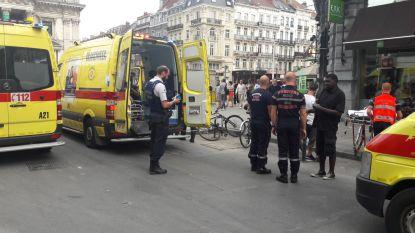 Daklozen worden onwel door hitte, vier ziekenwagens dienen eerste hulp toe