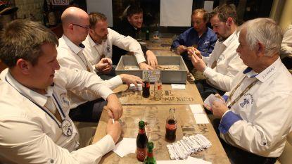 CARNAVAL HALLE: Prinsen van Tastendeuvel wikkelen op één avond vijfduizend krotten in papiertjes