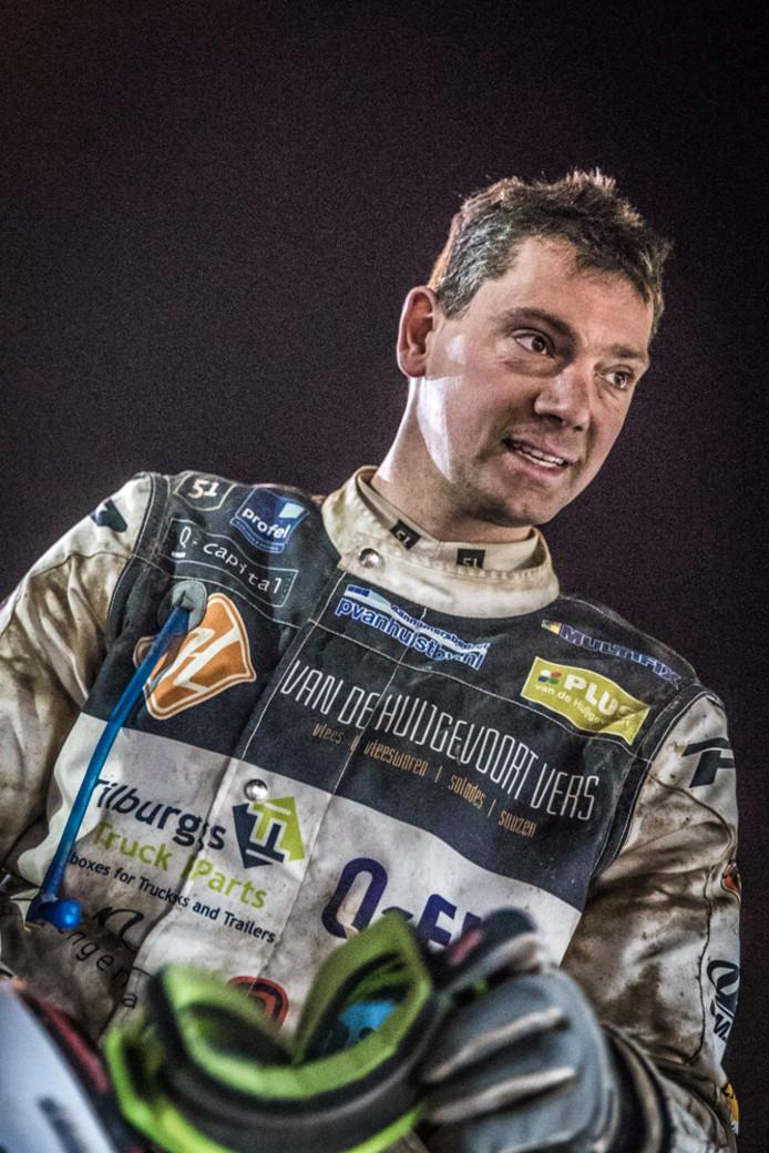 Luc van de Huijgevoort had nog een doel bij de laatste Dakar etappe; Finishen!