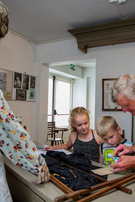Speuren in het verleden in Museum Tweestromenland