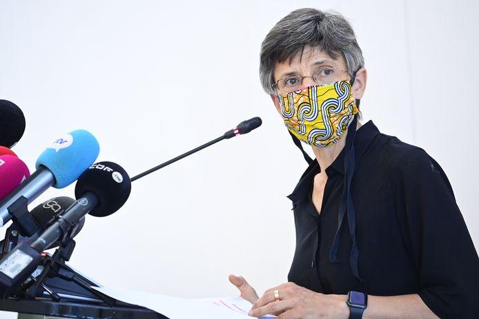Cathy Berx, gouverneure d'Anvers.