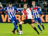 Voorspelbaar Feyenoord bijt zich stuk op Heerenveen