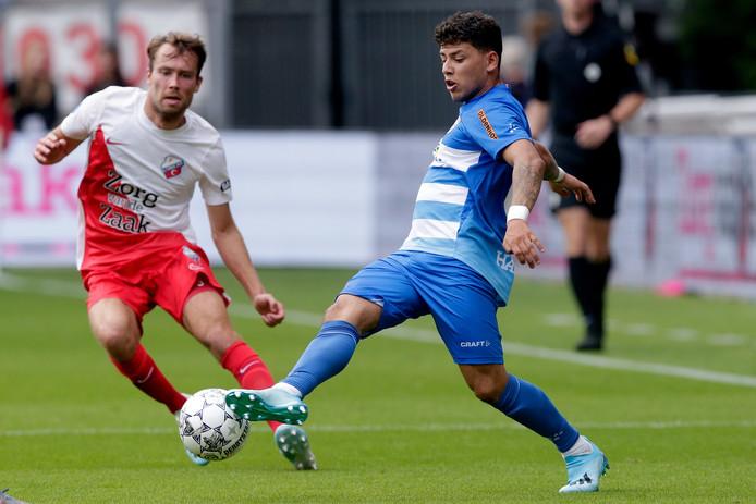 Gustavo Hamer viel zondag in Utrecht geblesseerd uit.