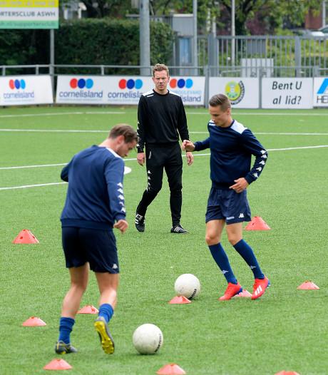 Trainer ASWH: 'Ik wil dat wij in de tweede divisie een ploeg zoals FC Emmen zijn'