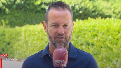 """Ook VTM-analist Gilles De Bilde vindt aanblijven Martínez uitstekende zaak: """"Dit kan doorslag geven om hele selectie samen te houden tot het WK"""""""