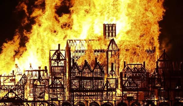 Londens grote brand was nog veel verwoestender