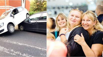 Shana zit na ongeval vast in auto. Getuigen beginnen te filmen, in plaats van te helpen
