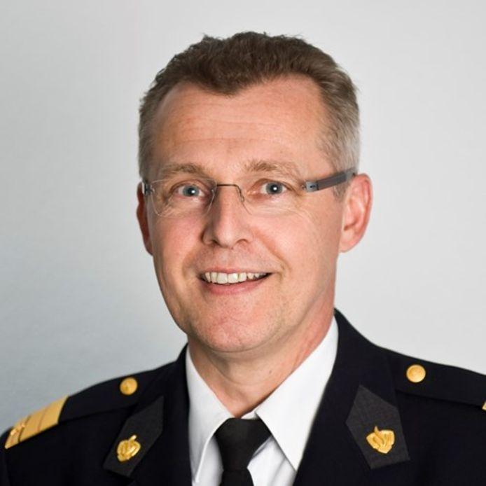 Anton Slofstra, directeur brandweer Gelderland-Midden