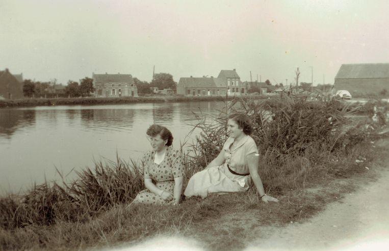 Een oud dorpszicht op Massenhoven: een van de foto's die te zien zal zijn tijdens de fototentoonstelling.