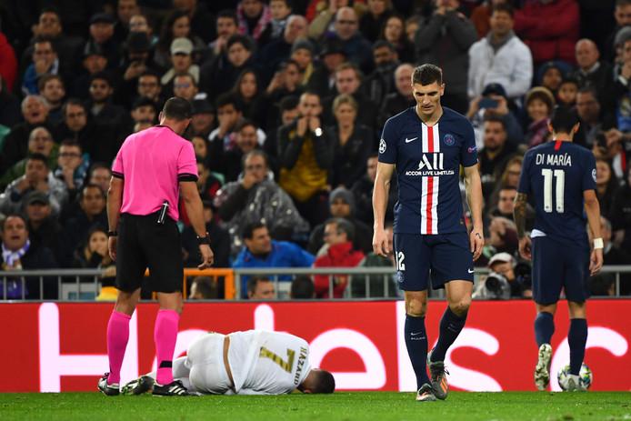 L'inquiétude sur la blessure d'Eden Hazard a longtemps était présente après un tacle de Thomas Meunier lors du choc Real Madrid/PSG. Finalement, après des examens, ce n'est qu'une contusion et le Belge devrait être rapidement de retour sur les terrains.