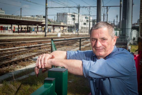 Stefan T'Jolyn van ACOD Spoor Limburg