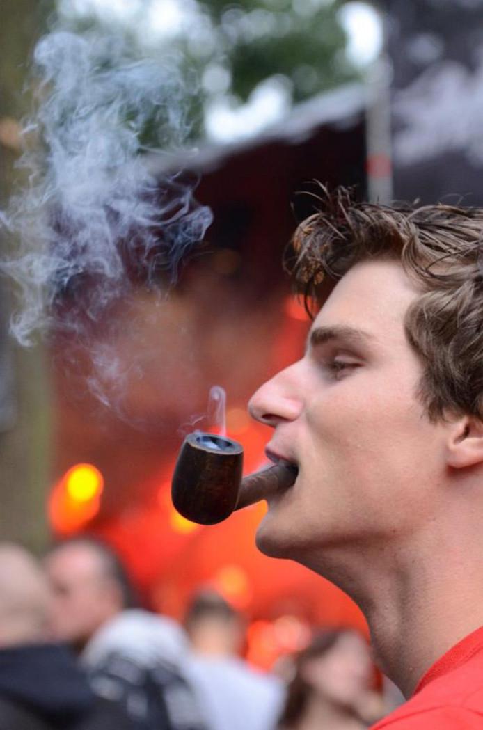 Stijn Lomans op Nirwana Tuinfeest