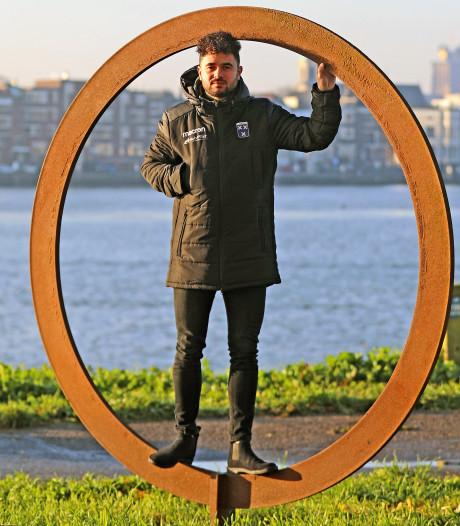 Justin Blaauw heeft geen spijt van overgang van Drechtstreek naar Wieldrecht