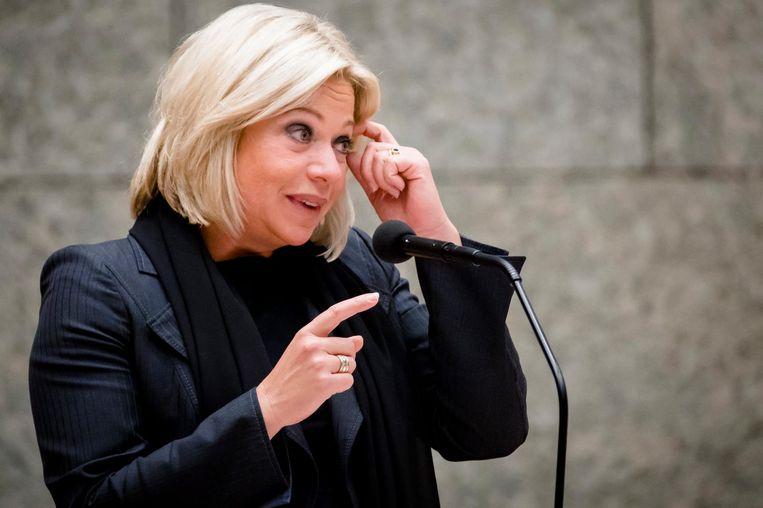 Minister Jeanine Hennis van Defensie. Beeld anp