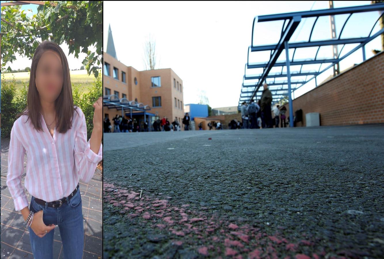 Maëlle (15 ans) fréquentait l'école Saint-Joseph Notre-Dame à Jumet