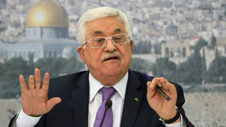 De Palestijnse president Mahmoud Abbas. Beeld ap