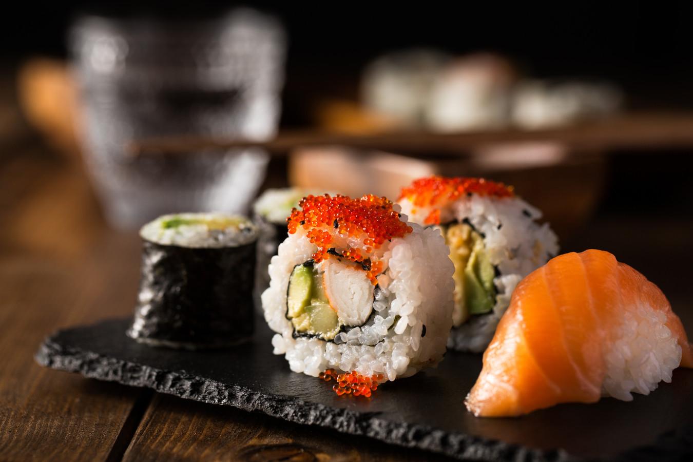 Sushi Sashimi Zalm