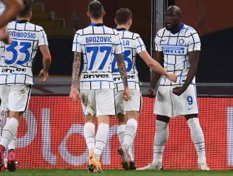 'Big Rom' rondt al de kaap van 10 goals: Lukaku bezorgt Inter zege bij Genoa