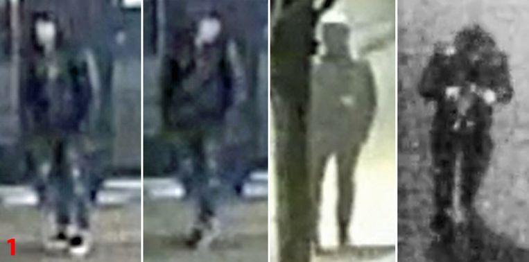 De verdachte die de slachtoffers achtervolgde vanaf het Zegeplein