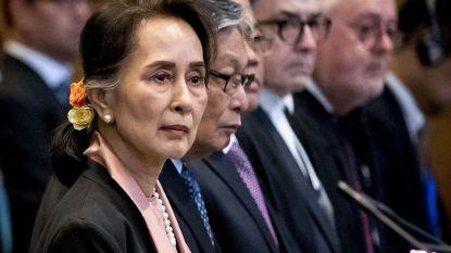 Aung San Suu Kyi verschijnt voor strafhof in Den Haag op beschuldiging van genocide