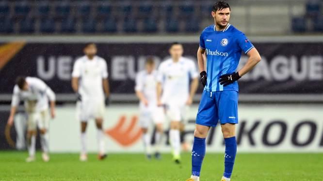 Nul over de hele lijn: AA Gent krijgt nieuwe Europese dreun verkocht van Slovan Liberec