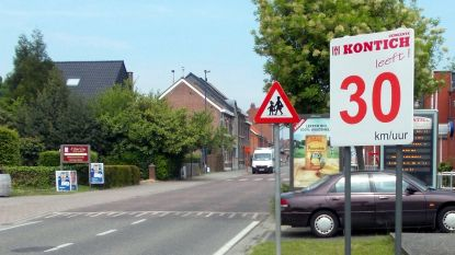 Zone 30 breidt sterk uit in Kontich