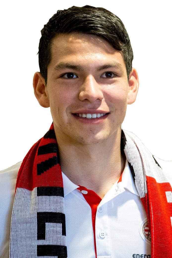 Hirving Lozano, de nieuwe aanwinst van PSV.