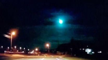 Texanen filmen spectaculaire meteoorinslag