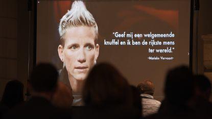 """Afscheid van Marieke Vervoort: """"Ook in liefde en vriendschap behaalde je goud"""""""