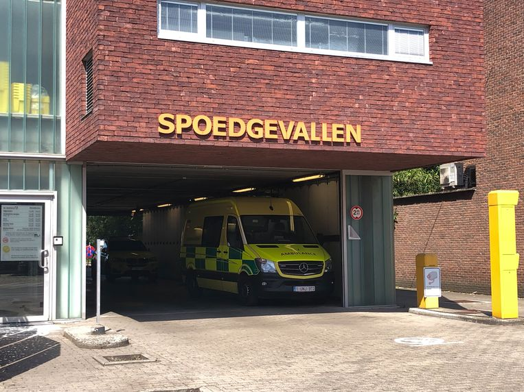 Het incident deed zich voor in de dienst spoedgevallen aan de Florent Pauwelslei in Deurne.