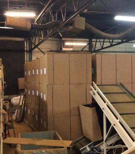 Grote illegale tabaksfabriek in Dronten opgerold, goed voor 'miljoenen aan belastinggeld'