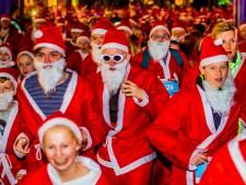 Achtste Santa Run in Dordtse binnenstad