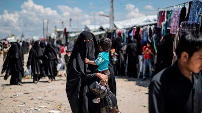 """""""Belgische IS-vrouwen vertrokken uit Syrisch kamp"""""""