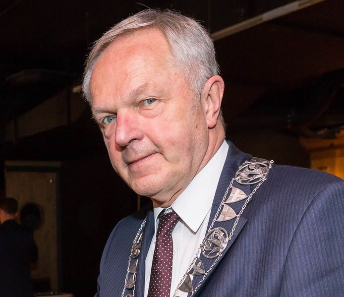 Burgemeester Henk Jan Meijer van Zwolle