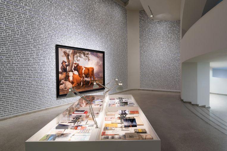 Opstellibng in de tentoonstelling Countryside, The Future. Beeld David Heald