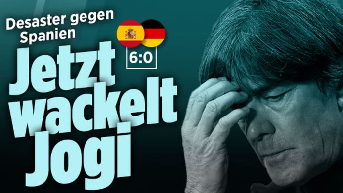 Joachim Löw ligt onder druk.