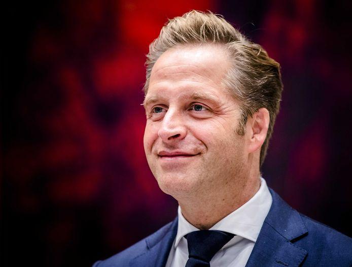 Hugo de Jonge, minister van Volksgezondheid, Welzijn en Sport.