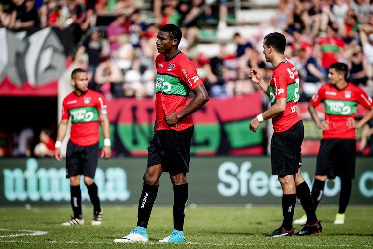 """Voetbalclub NEC reageert enthousiast: """"Bij ons ben je van harte welkom"""". Beeld ANP"""