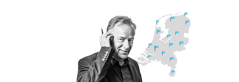Verslaggever Ariejan Korteweg op bezoek in conservatief Nederland: