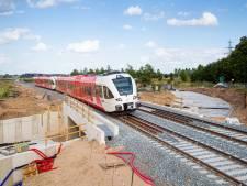 Werk aan spoor Wehl-Zevenaar volgens plan verlopen, treinen rijden weer