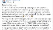 """Burgemeester Lode Ceyssens (CD&V) komt op voor veehouder: """"Niemand zet dier opzettelijk in etalage voor wolf"""""""