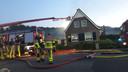 De brand is onder controle. Het huis in Kilder is gered.