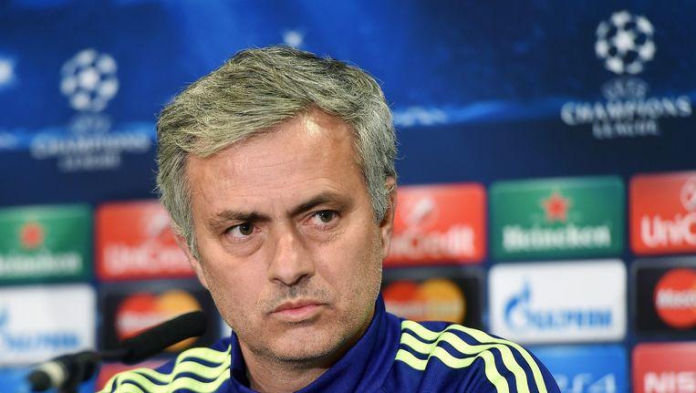 José Mourinho pleit voor de invoering van video-arbitrage. Beeld EPA