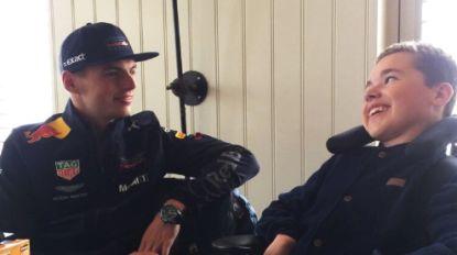 Max Verstappen maakt droom van zieke superfan Pleun (14) waar