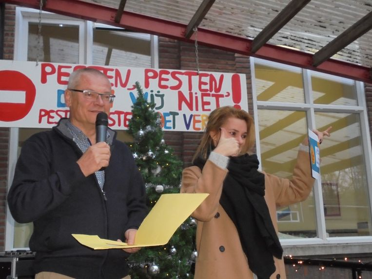 De leerlingen liepen bijn 4.500 euro bij elkaar.